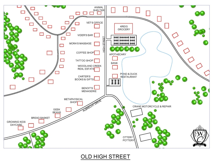Woodland Creek-Old High Street